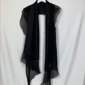 Nordstrom black scarf